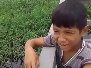 Carlos Daniel, de 8 anos, desapareceu no Rio Guaporé há seis dias (Foto: Ivani dos Santos/Arquivo Pessoal)