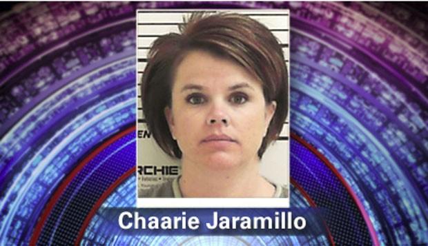 Chaarie Jaramillo foi presa por ter feito sexo com estudante há 10 anos (Foto: Reprodução)