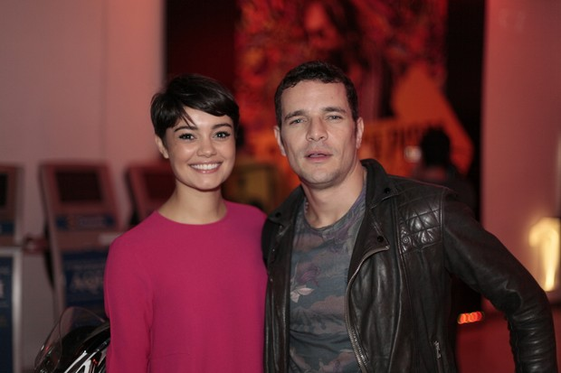 Sophie Charlotte e Daniel de Oliveira (Foto: Isac Luz / EGO)