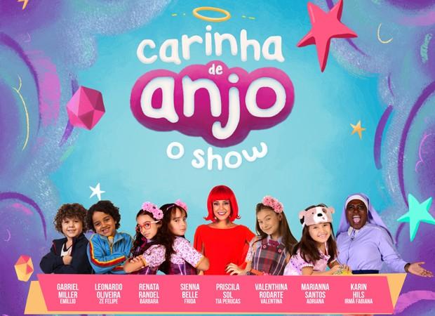 'Carinha de Anjo' reunirá parte do elenco em show (Foto: Divulgação/SBT)