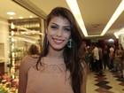 Ex-BBB Franciele vai a estreia de peça no Rio