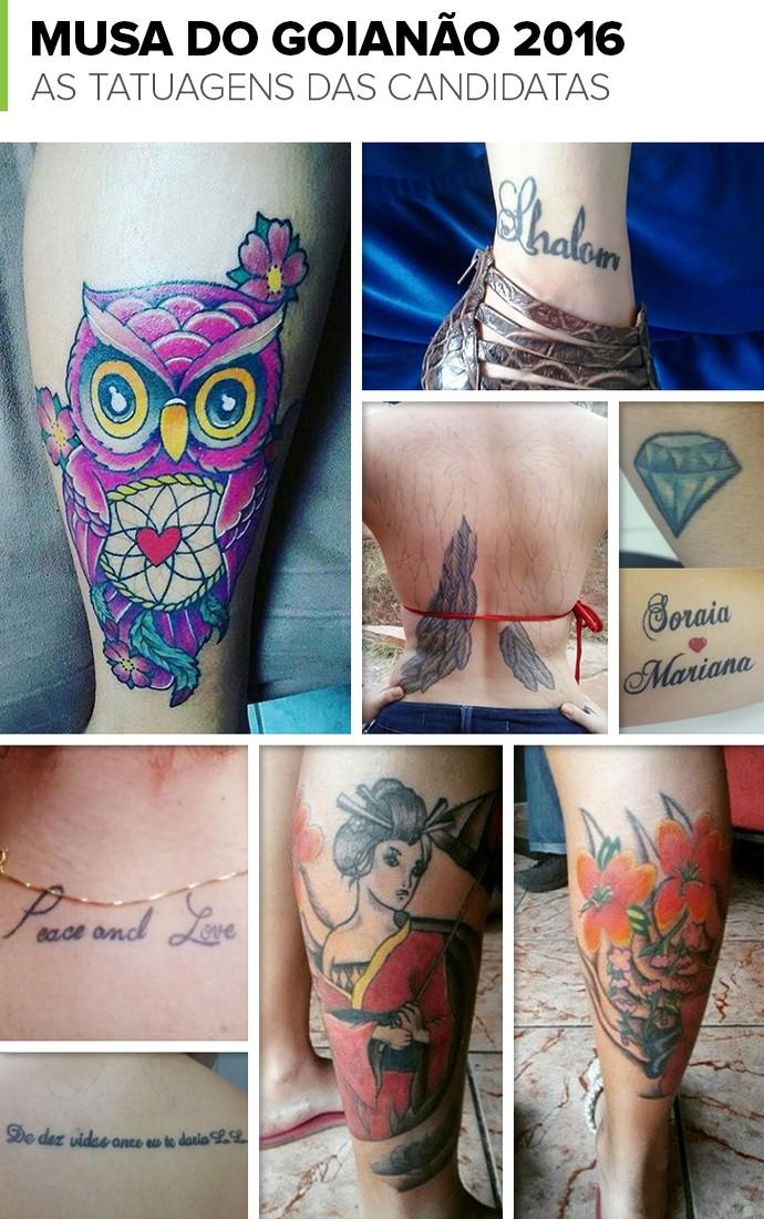 Família Fé E Tributo A Sertanejo Veja As Tatuagens Das Musas Do