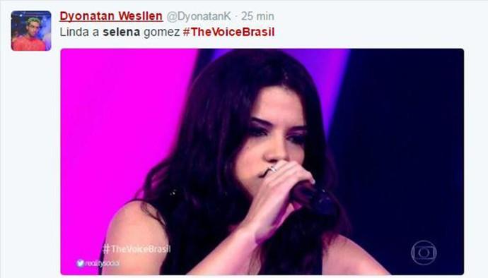 Voice Selena Gomez Voice (Foto: Reprodução/Internet)
