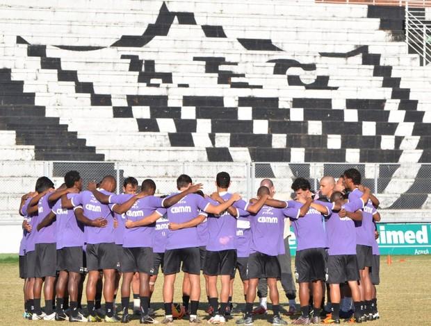 Araxá Esporte Clube jogadores grupo (Foto: Divulgação/AEC)