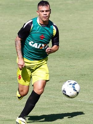 Bernardo treino Vasco (Foto: Roberto Filho/Agência Estado)