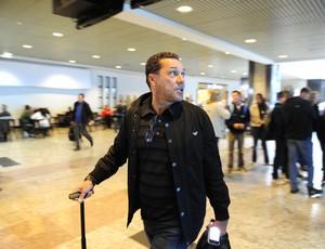 luxemburgo aeroporto demissão demitido grêmio (Foto: Ricardo Duarte/Agência RBS)