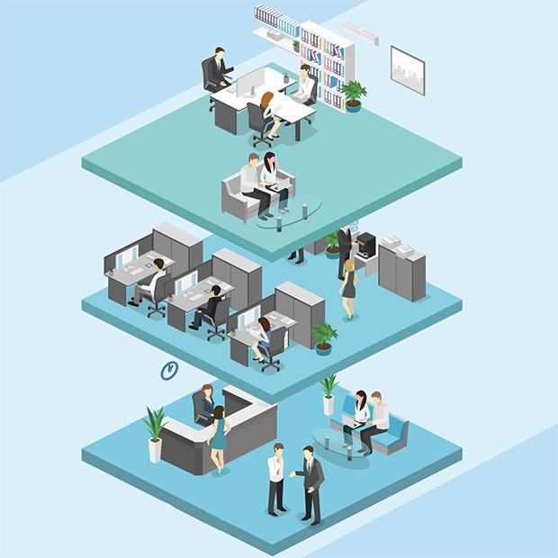 Tecnologia;Ciência; Design na produtividade e criatividade dos funcionários (Foto: Ilustração: Thinkstock)