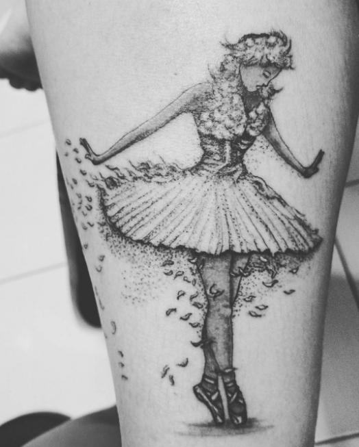 Tatuagem feita por Vivi Lima (Foto: Reprodução/Instagram)