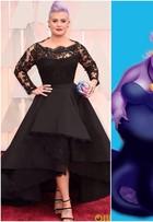 Começou a zoeira! Look de Kelly Osbourne no Oscar vira piada na web