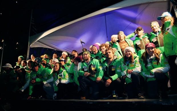 esqui alpino seleção americana (Foto:  Sarah Brunson)