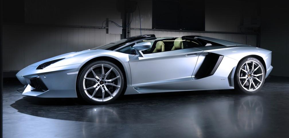 Lamborghini Aventador Roadster (Foto: Divulgação)