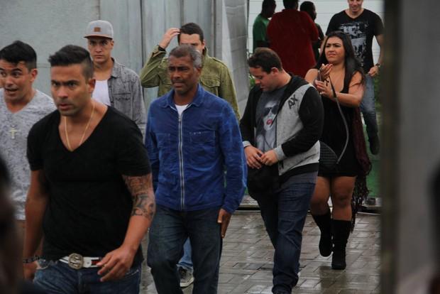 Romário no Villa Mix (Foto: Delson Silva / Agnews)