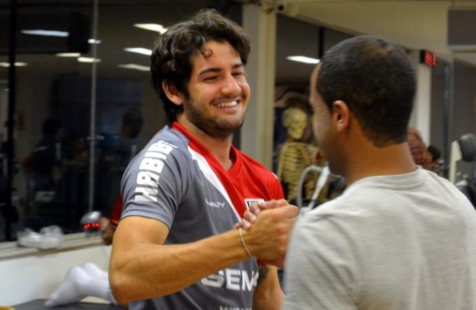 Lucas Rogério Ceni São Paulo (Foto: Divulgação site oficial / saopaulofc.net)