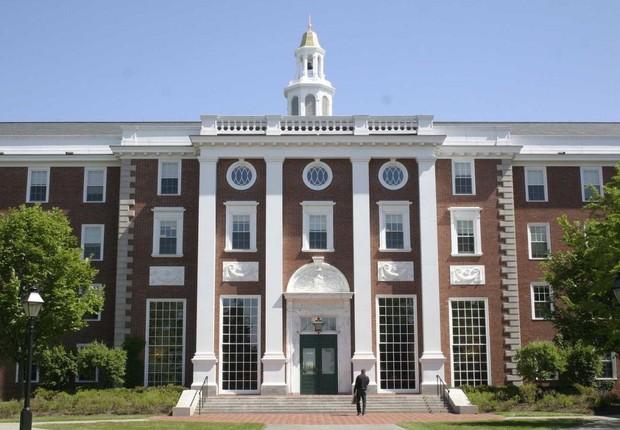 Harvard Business School , a escola de negócios da Universidade de Harvard , nos Estados Unidos (Foto: Divulgação)