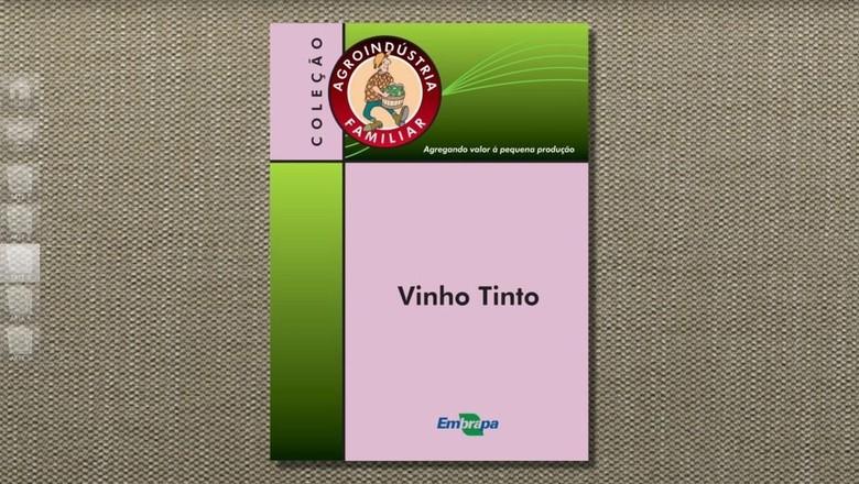 livro-produzir-vinho (Foto: Reprodução/TV Globo)