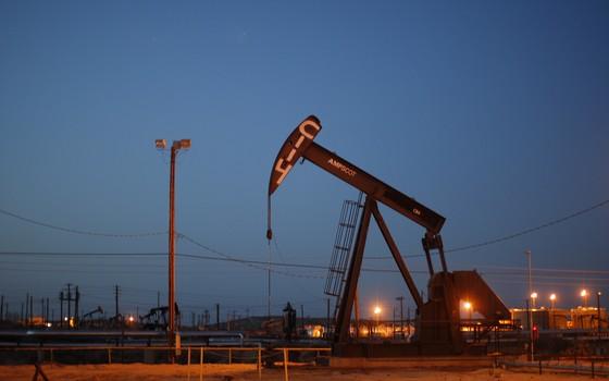 Extração de gás natural na Califórnia, Estados Unidos (Foto: David McNew/Getty Images)
