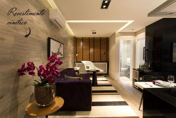 Quem decora por camila klein veja ideias de como revestir as paredes de seu lar quem casa - Vinilico para paredes ...