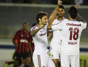 Eafael Sobis Monzon Fluminense x Atlético-PR (Foto: Ricardo Ayres / Photocâmera)