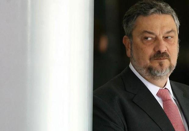 O ex-ministro Antônio Palocci (Foto: Gustavo Miranda/Agência O Globo)