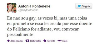 Antonia Fontenelli (Foto: Reprodução / Twitter)