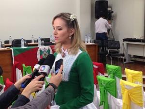Juíza Carine Labres (Foto: Estevão Pires/G1)