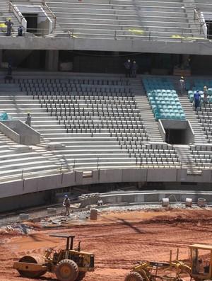 arena fonte nova em 12/12/2012 - assentos (Foto: Divulgação)