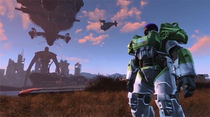 Fallout 4 recebe mods no PlayStation 4 após longo período de espera (Foto: Reprodução/LockerDome)
