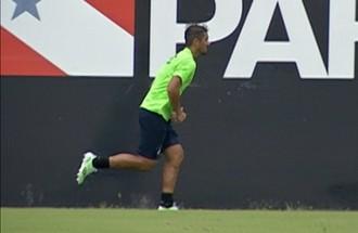 Mateus Carioca no Remo (Foto: Reprodução/TV Liberal)