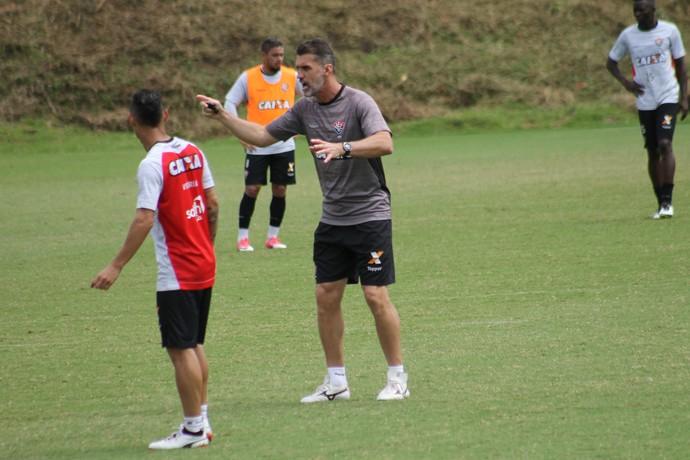 Vitória; treino; Toca do Leão; Vagner Mancini (Foto: Maurícia da Mata/EC Vitória/Divulgação)