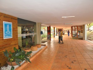 Corredor UFMS Campo Grande MS (Foto: Fernando da Mata/G1 MS)