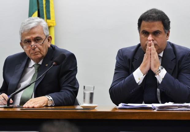 Os deputados Pedro Fernandes e João Carlos Bacelar  (Foto: Antonio Cruz/Agência Brasil)
