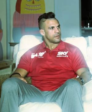 Vitor Belfort (Foto: Reprodução TV Globo)