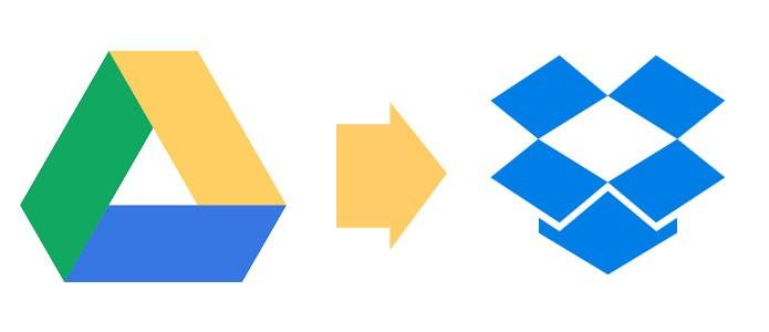Migrando arquivos do Google Driver para o Dropbox (Foto: Reprodução/André Sugai)
