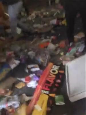 Vídeo mostra loja sendo saqueada em Baltimore (Foto: Reprodução/Twitter/FlashyRod)