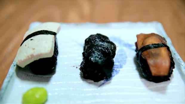 Sushi de vegetais: receita da Bela Gil para o Bela Cozinha (Foto: Reproduo/GNT)