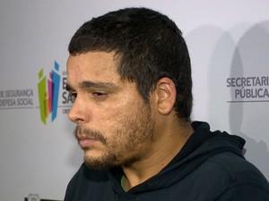 Procurado por homicídio e tráfico no Espírito Santo (Foto: Reprodução/ TV Gazeta)