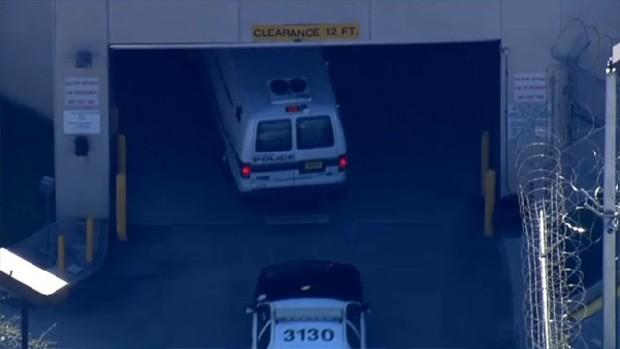 Justin Bieber preso em Miami (Foto: Video/Reprodução)