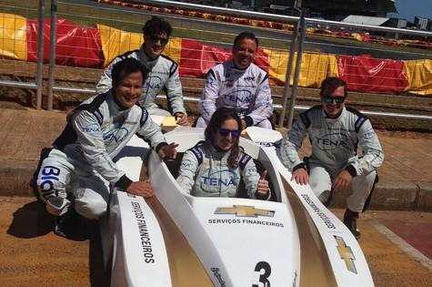 Marcos Breda, Allam Khodair, Bia Figueiredo, Paulo Nigro e Rafael Cardoso  (Foto: Divulgação)