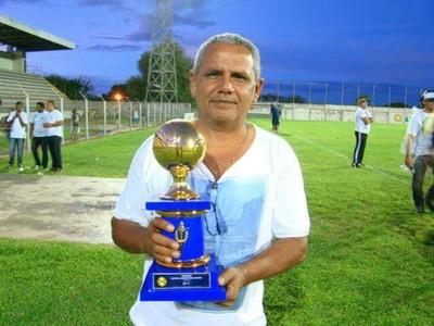 Luiz Bosco Delgado, presidente do Corumbaense (Foto: Divulgação/Corumbaense FC)