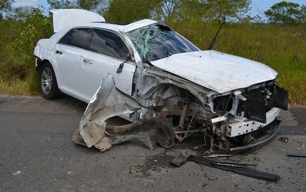 acidente Anselmo Ramon (Foto: Everaldo LIns / Divulgação)