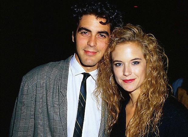 George Clooney e Kelly Preston (Foto: Reprodução)