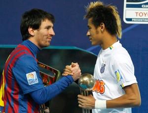 Neymar Messi 2011 (Foto: Site Oficial)