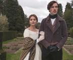 Jenna Coleman e Tom Hughes em 'Victoria' | Reprodução