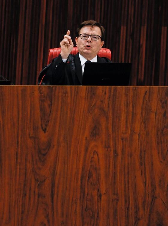 Ministro do TSE Herman Benjamin (Foto: Sérgio Lima/ Época)