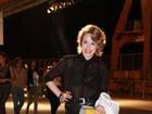 Marcella Rica vai de shortinho ao Fashion Rio