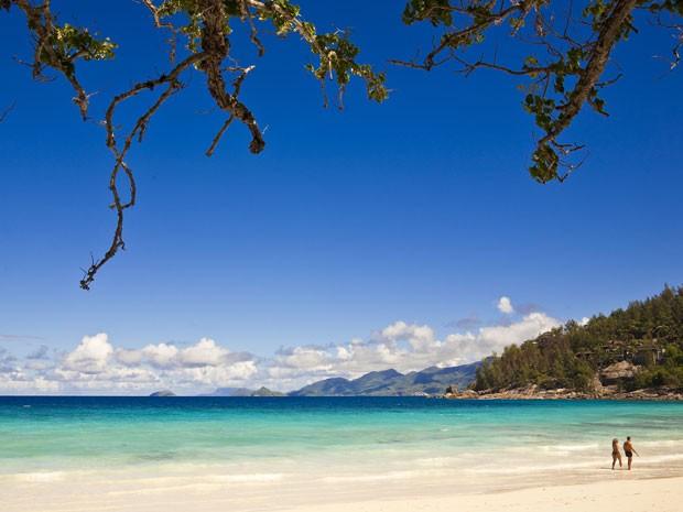 Praia nas ilhas Seychelles (Foto: Maisant Ludovic / hemis.fr /AFP)