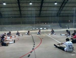 Peneirada será realizada de quarta a sexta-feira no poliesportivo do Bairro Patrimônio.  (Foto: Divulgação/Uberlândia Futsal)