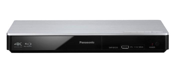 Panasonic DMP-BDT270 tem entrada USB para pendrive (Foto: Divulgação/Panasonic)