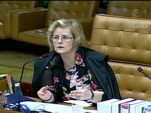 Ministra Rosa Weber (Foto: Reprodução Globo News)