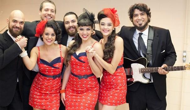 Cluster Sisters (Foto: Dafne Bastos/TV Globo)